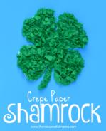 crepe-paper-shamrock-for-st.-Paricks-Day2-242x300