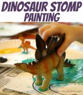 DinosaurStompPaintingPin