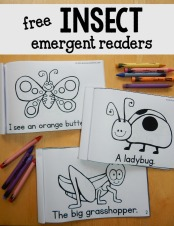 free-insect-emergent-readers