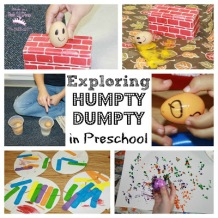 Humpty Dumpty Collage