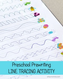 Preschool-Prewriting-Line-Tracing-Printable-Activity