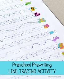 Preschool-Prewriting-Line-Tracing-Printable-Activity